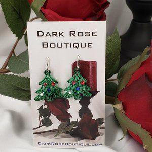 Adorable Christmas Tree Earrings